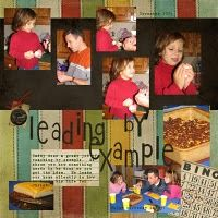 Scrapbook Layouts - lots of pictures