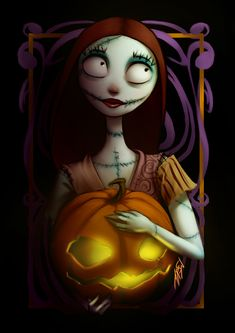 Happy Halloween!! Sally, from Nightmare Before Christmas by Rafa ArSen