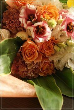 【今日の贈花】お母様のお誕生日に花束を♪ の画像 Flower note の 花日記 (横浜・上大岡 アレンジメント教室)