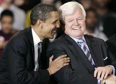 President Obama and Senator Kennedy