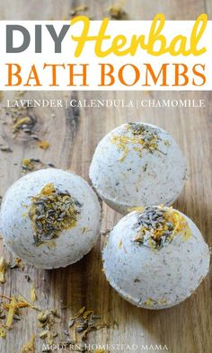 DIY Herbal Bath Bombs - Calming Lavender, Calendula, and Chamomile Diy Hanging Shelves, Diy Wall Shelves, Floating Shelves Diy, Wine Bottle Crafts, Mason Jar Crafts, Mason Jar Diy, Diy Home Decor Projects, Diy Projects To Try, Bath Bomb Ingredients