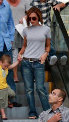 she wears jeans too!
