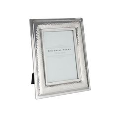 "5 x 7"" Hammered Aluminium Photo Frame 