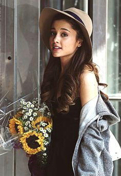 Ariana Grande<3 I LOV3 Her so much! Her style is my style... for the most part:)