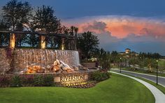 Gorgeous Entry at Riverstone in Naples, Florida! #newhomes #glhomes