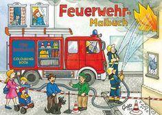 Malbuch Feuerwehr bei www.party-princess.de