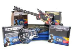 WowWee Paper Jamz Pro Guitar Series 1 Bundle - 4 Guitars & 4 Amplifier by Paper Jamz. $82.33. Each guitar comes with an internal speaker and 3 included songs - download more!. Amplifiers will be any four of the Series 1 amplifiers, of which there are 4 styles.. Rhythm, control a songs rhythm for performances that are always in the right key. Freestyle go solo and play real chords and notes to create your own hit songs. Series 1 Bundle C includes two (2) Red and...