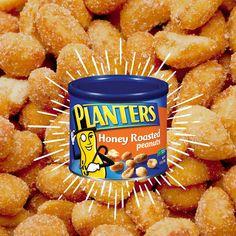 Planters Honey Roasted Peanuts siempre son una buena idea. #planters #peanut #honey #snack