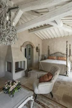 Home Decoration Application Refferal: 2299846632 French Country House, My Ideal Home, Beautiful Bedrooms, House, Chic Living Room, Home, French Country Bedrooms, Country Cottage Decor, Country Bedroom