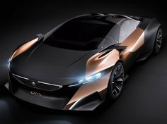 French Concept Cars: Peugeot Onyx Concept