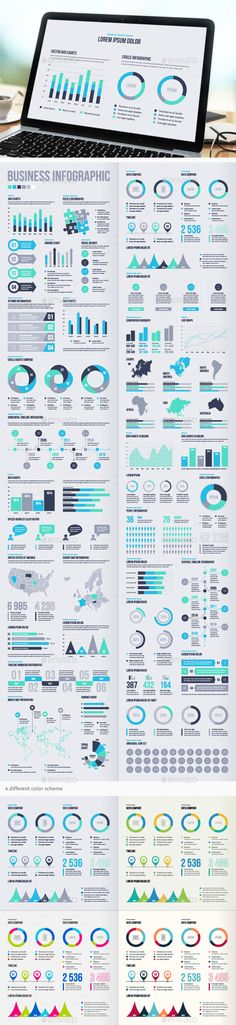 #Business #Infographic Elements - Infographics