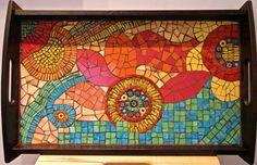 My colourful #mosaic #tray!