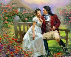 Art et illustrations romantiques