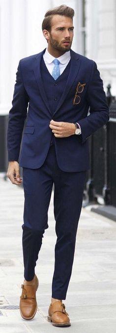 Mens suits combinations suit combination ideas for men mens suit colors for skin tone Turtleneck T Shirt, Oversized Sweater Outfit, Sweater Outfits, Oversized Sweaters, Formal Men Outfit, Men Formal, Formal Wear, Mens Fashion Blog, Suit Fashion
