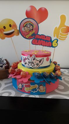 Sofì e Lui party Festa Party, Decoupage, Frozen, Alice, Syria, Cake, Crafting, Kuchen, Torte
