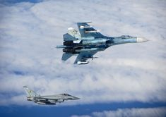 This week interception of Russian warplanes by NATO Typhoon fighters reminds me of the time in which the world was on the brink of total nuclear annihilation, when Soviet forces taunted the Americans to test their defenses. This image collection shows that part of a Cold War that seems reactivated right now.
