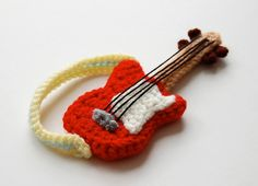 crochet pattern guitar by amieggs on Etsy