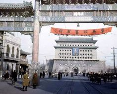 This is What Beijing Looked Like Back in 1947 (in color!) | Guide in China - A fantastic guide to live in China