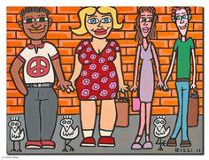 Alle Werke | James Rizzi James Rizzi, Graffiti Kunst, Pop Art, Cartoon Faces, Art Classroom, Ronald Mcdonald, Family Guy, Guys, Fictional Characters