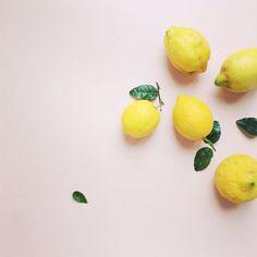 Flatlay Inspiration · via Custom Scene citrons, simple food styling