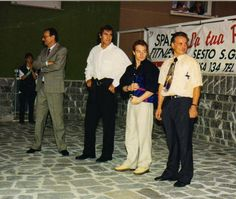 1996: Jury Chechi. Inaugurazione. E' stata una festa speciale!