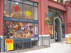Awesome Toy Store in our Hood: Magic Mouse Toys #shopseattle #seattlewalkingtour