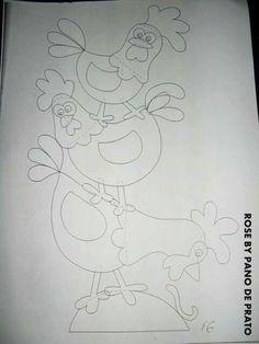 Dibujos gallinas