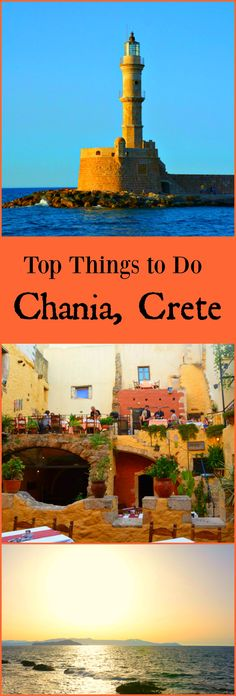 Top things to do in Chania, Crete. One of Crete's most loved destinations.
