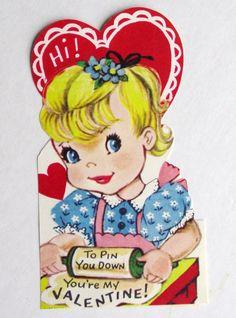 I love vintage Valentines