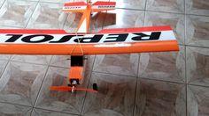 Aeromodelo pronto para voar