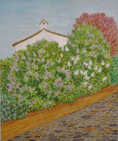 Casa de las lilas. Óleo sobre lienzo. 2007. 60x73cm 140€