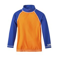 These boys long sleeve sun & swim shirts are available in an array of colors to choose from. Keep your active boy covered, with clothing from UV Skinz!