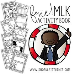 FREEBIE Round Up: Martin Luther King Jr. Day Activities