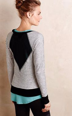 Backview Pullover #anthrofave