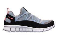 Free Huarache Light Grey/Black/Infrared by Nike