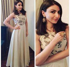Soha Ali Khan # Anushree reddy # day look # tunic # dress # cutout look #