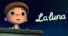 La Luna : 2011 - Directed by Enrico Casarosa. More Pixar magic! Grandfather, father, and son are the stewards of the moon whose job is to clean up the fallen stars and arrange them for each phase. The inspiration of the author Calvino and the master animator Miyazaki are all over this wonderful and charming short.