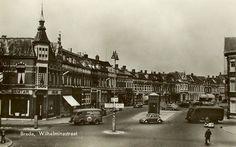 Wilhelminastraat Breda (jaartal: 1950 tot 1960) - Foto's SERC