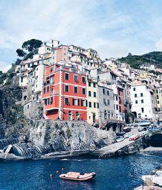Ciao bella! Cinque Terre I love you already!  #cinqueterre #riomaggiore #tvobtakesitaly