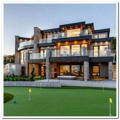 Dream House Interior, Luxury Homes Dream Houses, Dream Homes, Luxury Interior, Luxury Furniture, Style At Home, Design Exterior, Modern Exterior, Dream Mansion