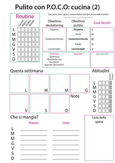 10 more free printable daily planners free printable for Planner cucina gratis