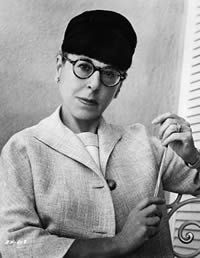 Edith Head - I love her fashion designs and costumes...