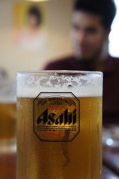 Asahi - Japanese beer (My Favorite) Mmmm! Japanese Beer, Japanese Party, Japanese Food, Drinks Logo, Fun Drinks, Beverages, My Favorite Food, Favorite Recipes, My Favorite Things