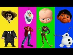 (1) Wrong Heads For Kids Disney Pixar Coco Disney Frozen The Boss Baby Finger Family Song Nursery Rhymes - YouTube