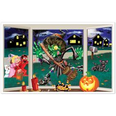 Sound Doll Prop 90cm Zombie Girl On Swing Halloween Party Decoration Light Up