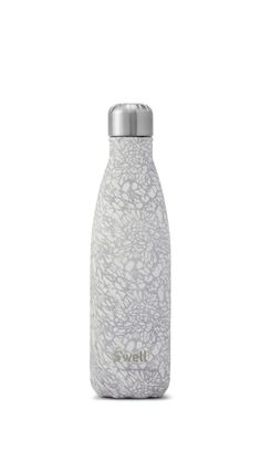 S'well Bottle | White Lace | Monochrome Collection | White Water Bottle