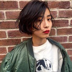 bibito TSUJII&NAGAIさんのヘアカタログ | 外国人風,グラデーション,ダークカラー,黒髪,楽ちんパーマ | 2016.01.06 17.35 - HAIR