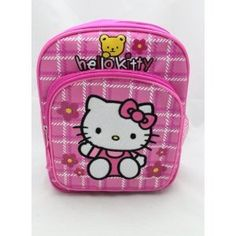 Sanrio Hello Kitty Small Mini Toddler Backpack    Price: $10.99        This is Hello Kitty Toddler Backpack and approx. 10 x 8 in. Water bottle is not included.               http://sanriohellokittytoddlerbackpack.hotproductsinusa.com