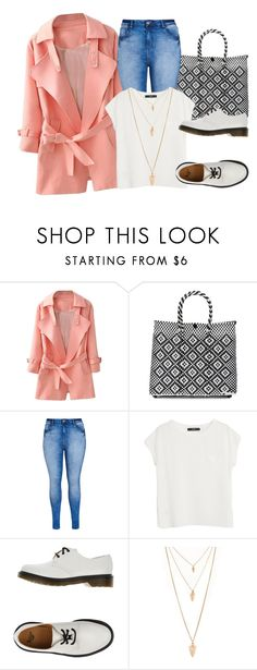 """Sin título #623"" by lululafitte on Polyvore featuring moda, TRUSS, City Chic, MANGO, Dr. Martens y Forever 21"