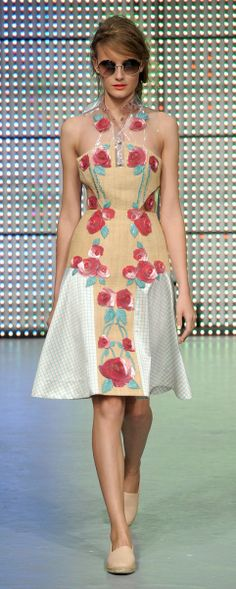 Holly Fulton hollyfulton.com Girly! From Ms. Fulton's 2013 collection